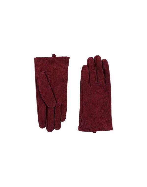 波尔多红 ONLY 手套