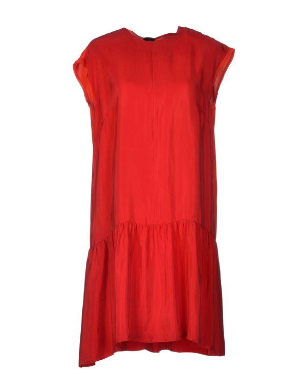 红色 ROKSANDA ILINCIC 短款连衣裙