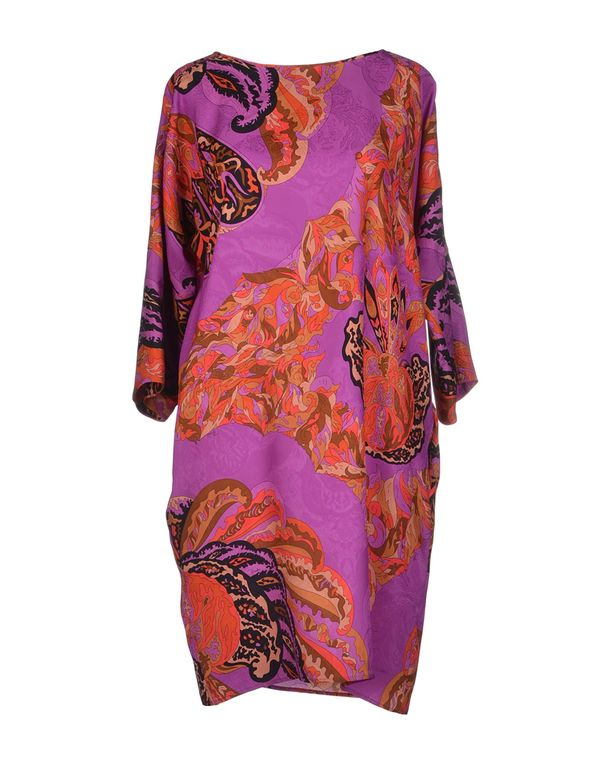紫色 EMILIO PUCCI 短款连衣裙