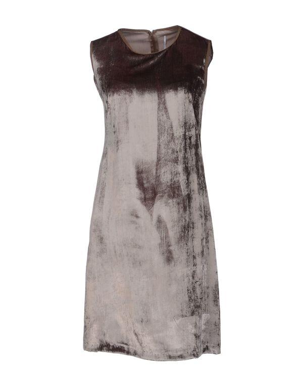 鸽灰色 LAVINIATURRA 短款连衣裙