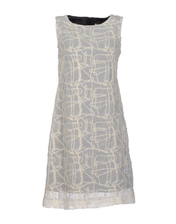 白色 LAVINIATURRA 短款连衣裙