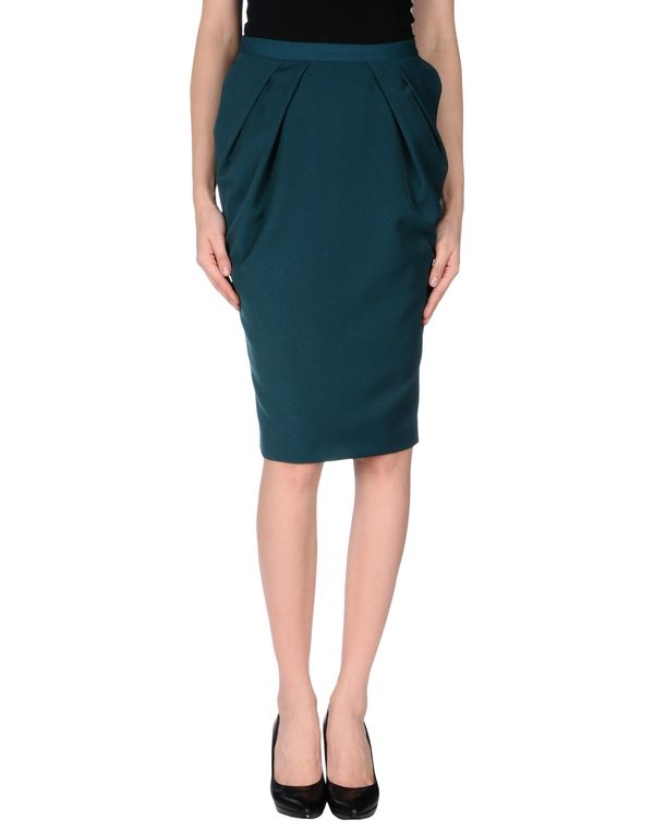 祖母绿 LAVINIATURRA 及膝半裙