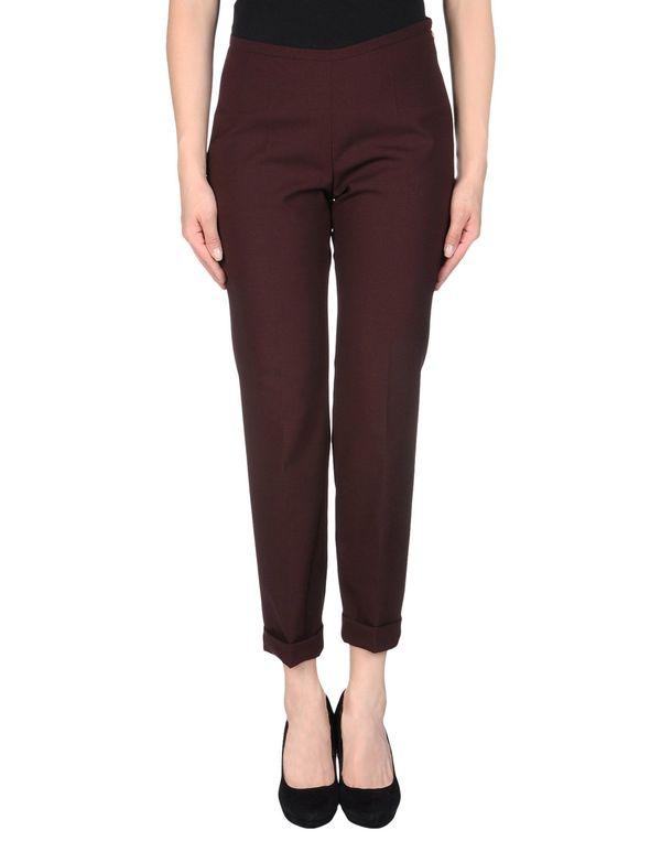 深紫 ROCHAS 裤装