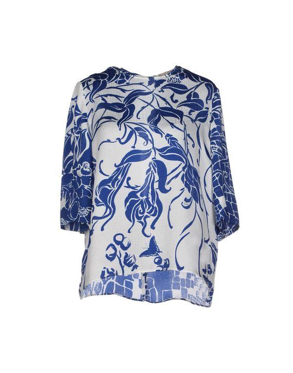 蓝色 EMILIO PUCCI 女士衬衫