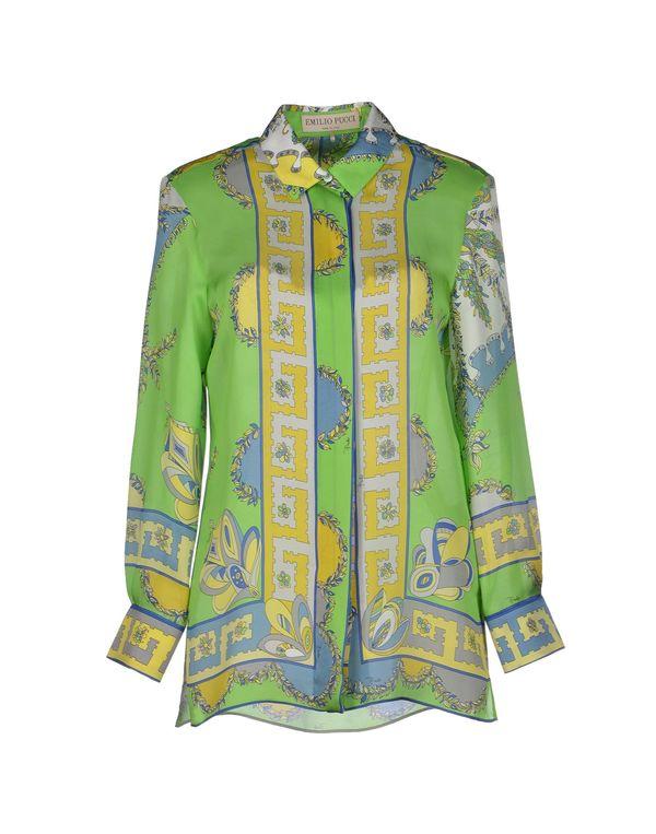 浅绿色 EMILIO PUCCI Shirt