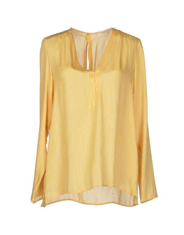 黄色 MAURO GRIFONI 女士衬衫