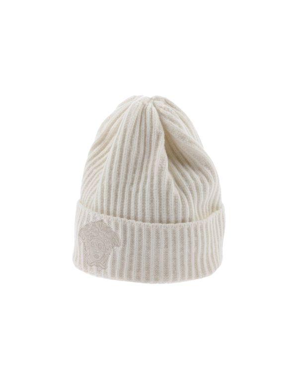 象牙白 VERSACE 帽子