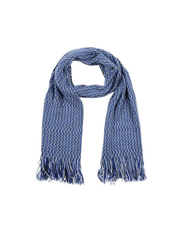 蓝色 MISSONI 围巾