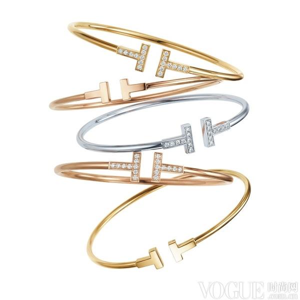 引领摩登T时代 蒂芙尼发布全新Tiffany T系列珠宝