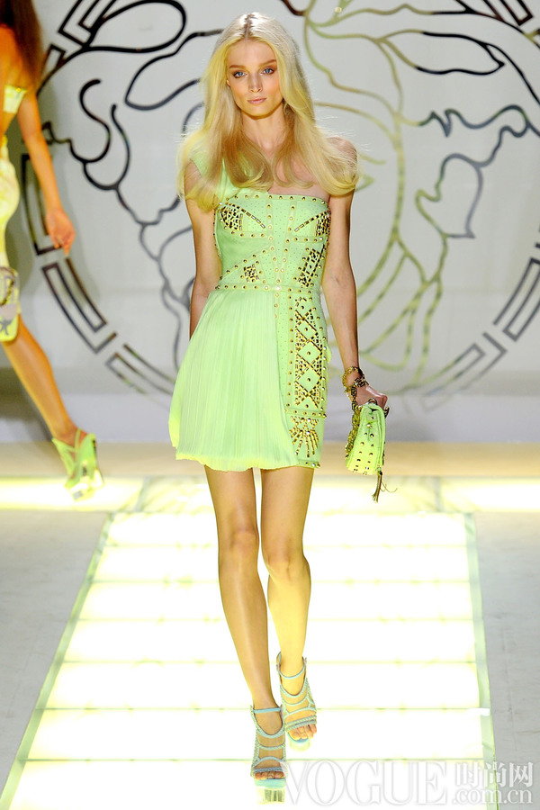 Versace2012春夏时装秀