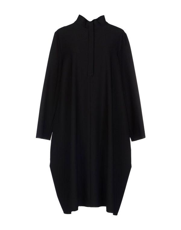 黑色 HACHE 短款连衣裙