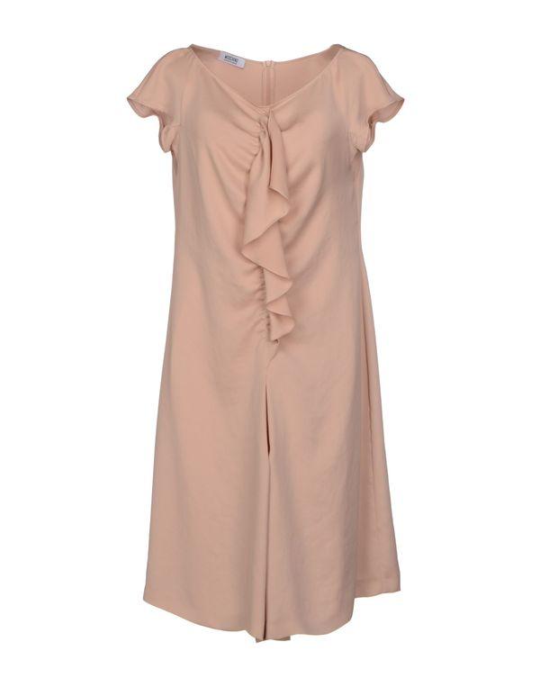 沙色 MOSCHINO CHEAPANDCHIC 短款连衣裙