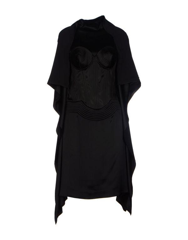 黑色 JEAN PAUL GAULTIER FEMME 及膝连衣裙