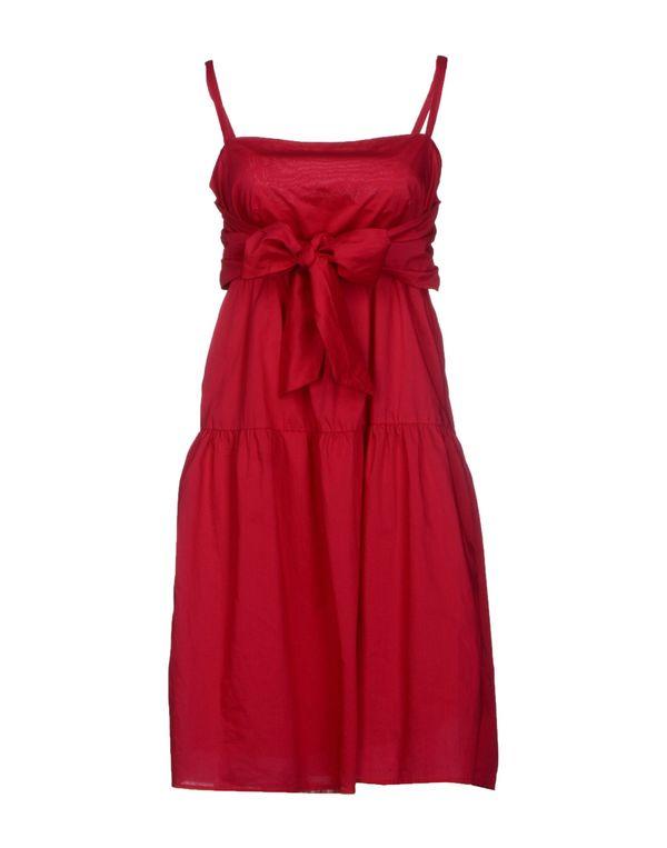 玫红色 LIU •JO JEANS 及膝连衣裙