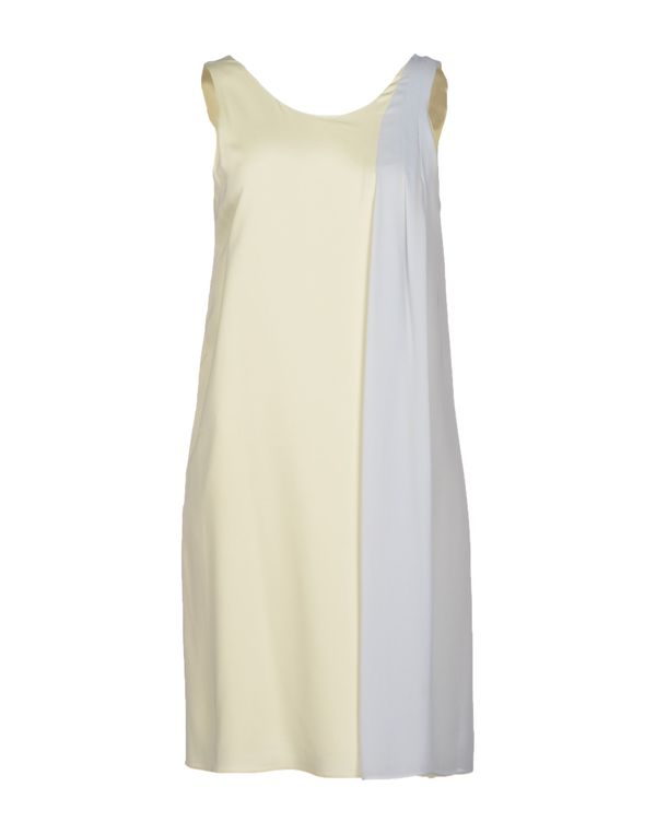 象牙白 EMPORIO ARMANI 短款连衣裙