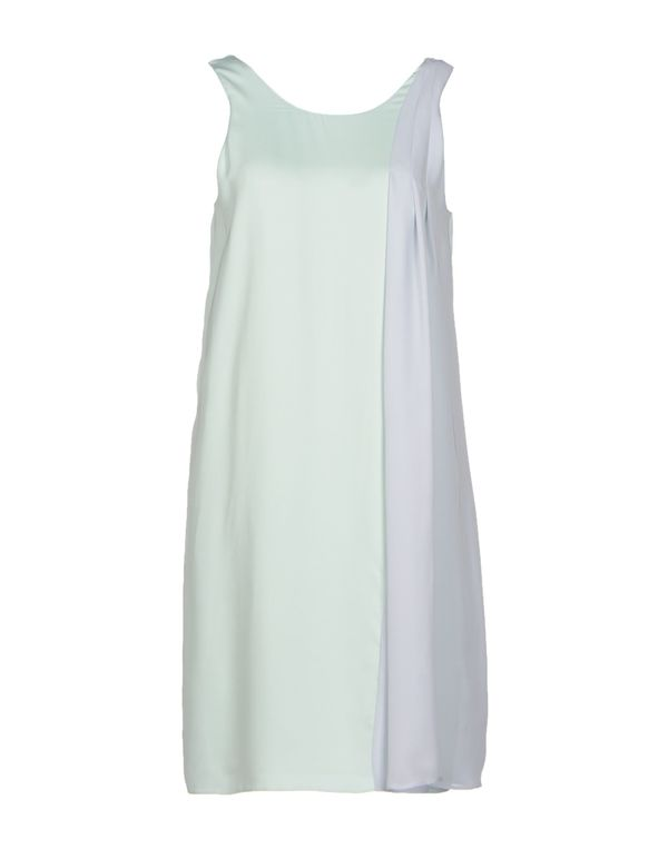 浅绿色 EMPORIO ARMANI 短款连衣裙