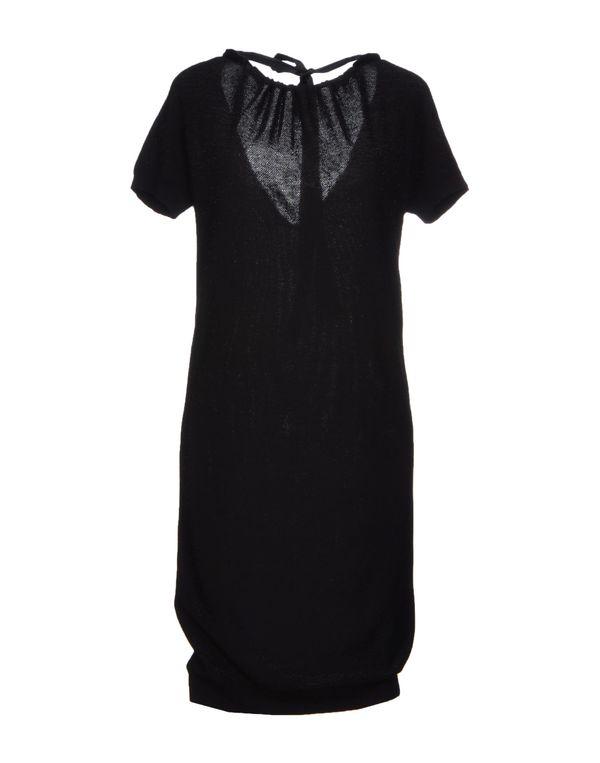 黑色 EMPORIO ARMANI 短款连衣裙