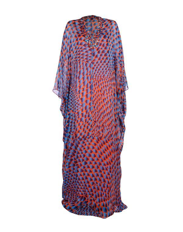 中蓝 ISSA 长款连衣裙