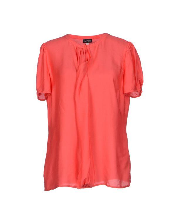 珊瑚红 ARMANI JEANS 女士衬衫
