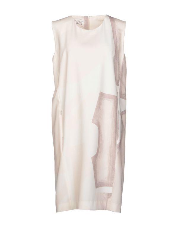 米色 MAISON MARTIN MARGIELA 1 短款连衣裙