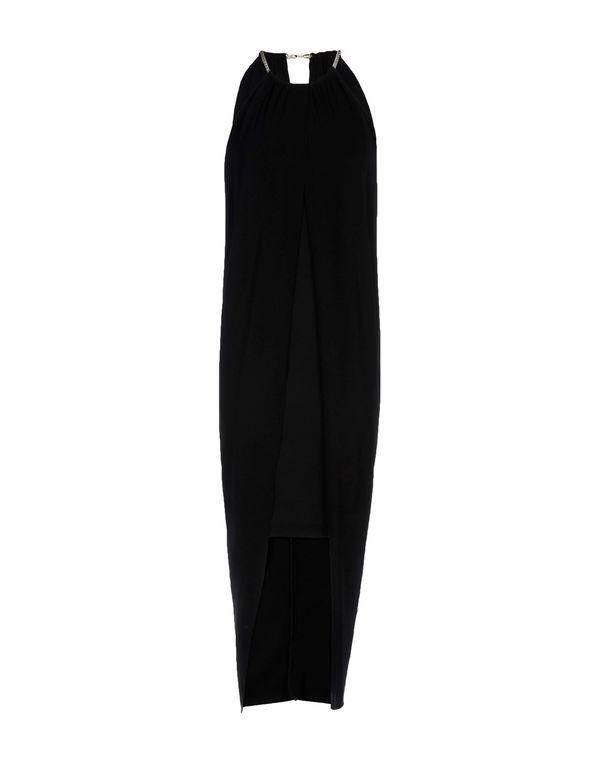 黑色 GAT RIMON 及膝连衣裙