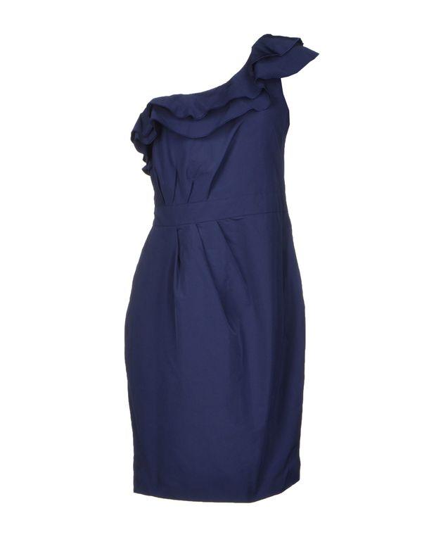 蓝色 PINKO BLACK 短款连衣裙