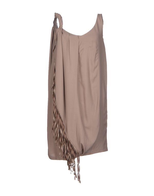 鸽灰色 LIU •JO 短款连衣裙
