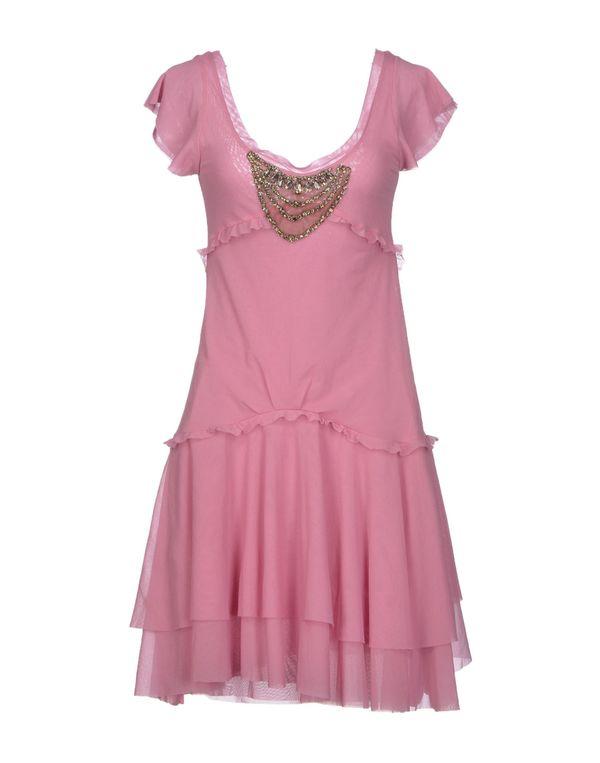 浅紫色 TWIN-SET SIMONA BARBIERI 短款连衣裙