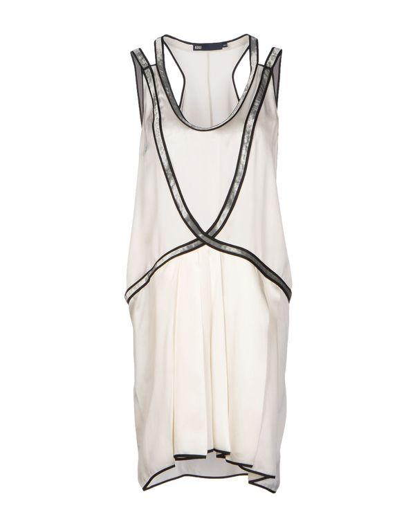 象牙白 6267 短款连衣裙