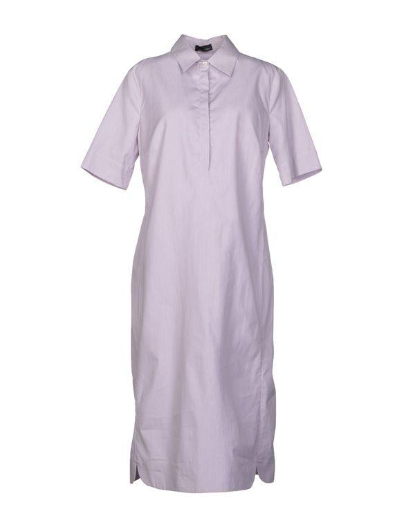 丁香紫 TONELLO 中长款连衣裙