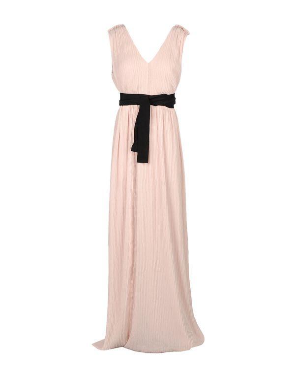浅粉色 HOSS INTROPIA 长款连衣裙