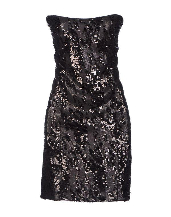 黑色 GUESS 短款连衣裙