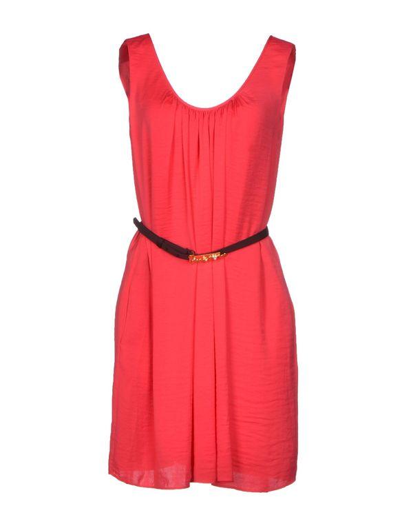玫红色 HOSS INTROPIA 短款连衣裙