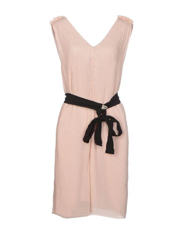 浅棕色 HOSS INTROPIA 短款连衣裙