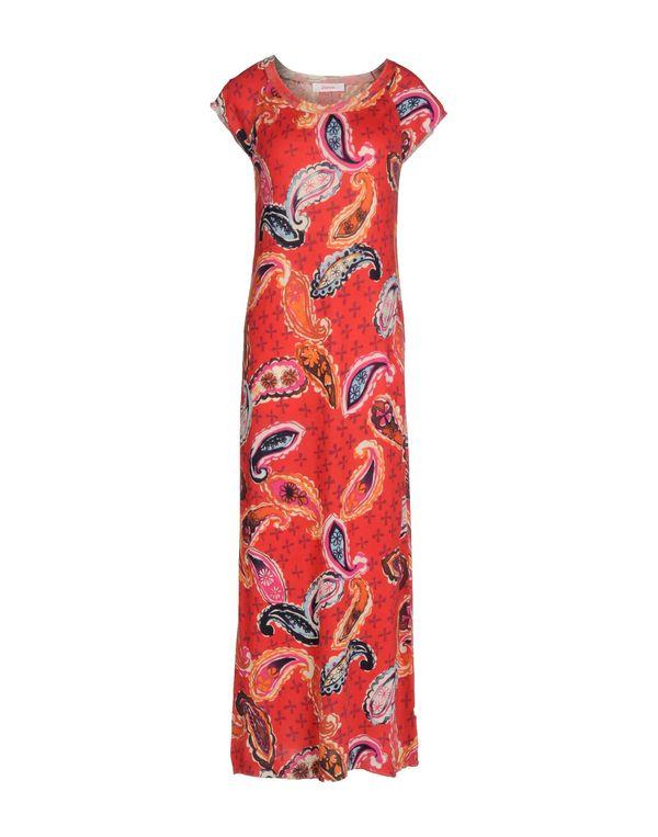 红色 JUCCA 长款连衣裙