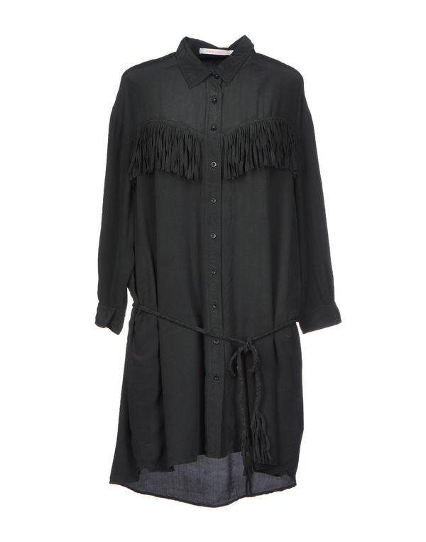 青灰色 VIRGINIE CASTAWAY 短款连衣裙