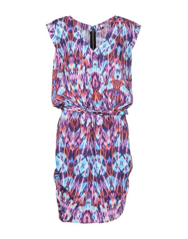 粉红色 VIRGINIE CASTAWAY 短款连衣裙
