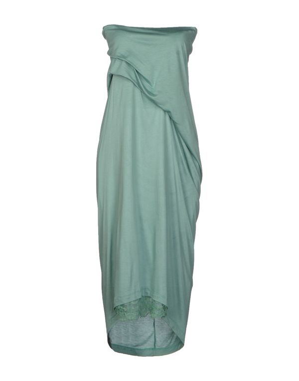 浅绿色 LE COEUR DE TWIN-SET SIMONA BARBIERI 及膝连衣裙