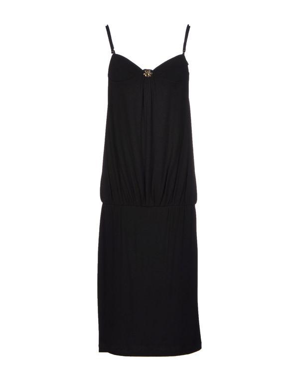 黑色 LIU •JO 中长款连衣裙