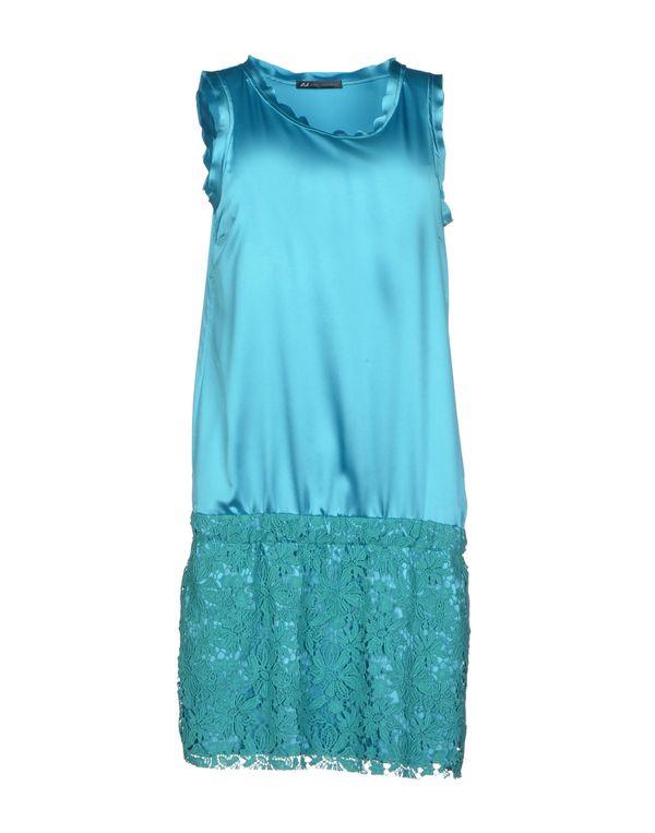 中蓝 D.A. DANIELE ALESSANDRINI 短款连衣裙