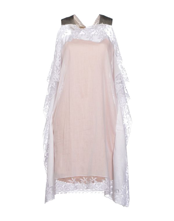 白色 ALEXIS MABILLE 及膝连衣裙