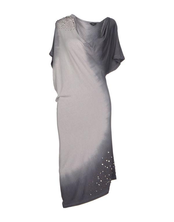 灰色 GUESS 及膝连衣裙