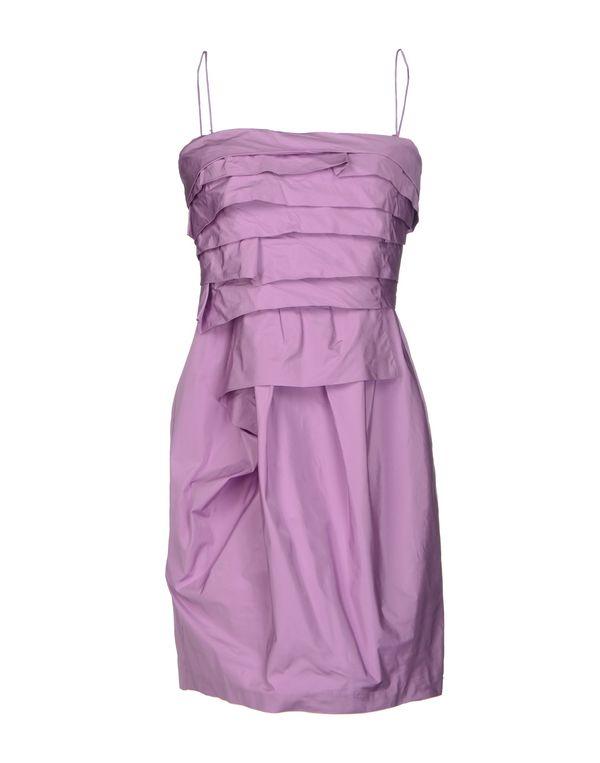 丁香紫 PINKO BLACK 短款连衣裙