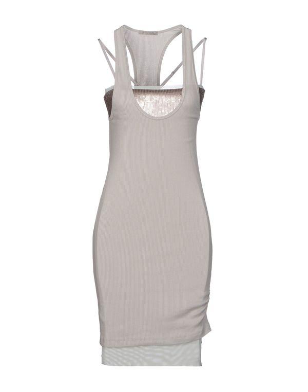 淡灰色 PINKO GREY 短款连衣裙