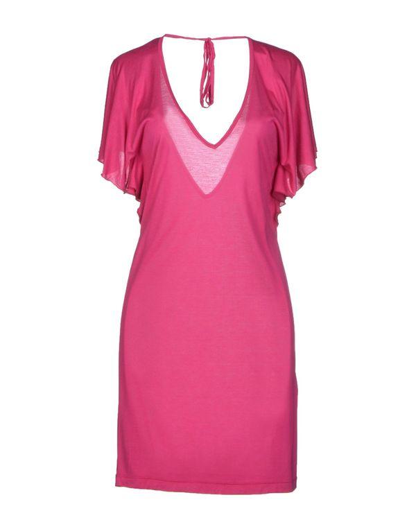 玫红色 NOLITA 短款连衣裙