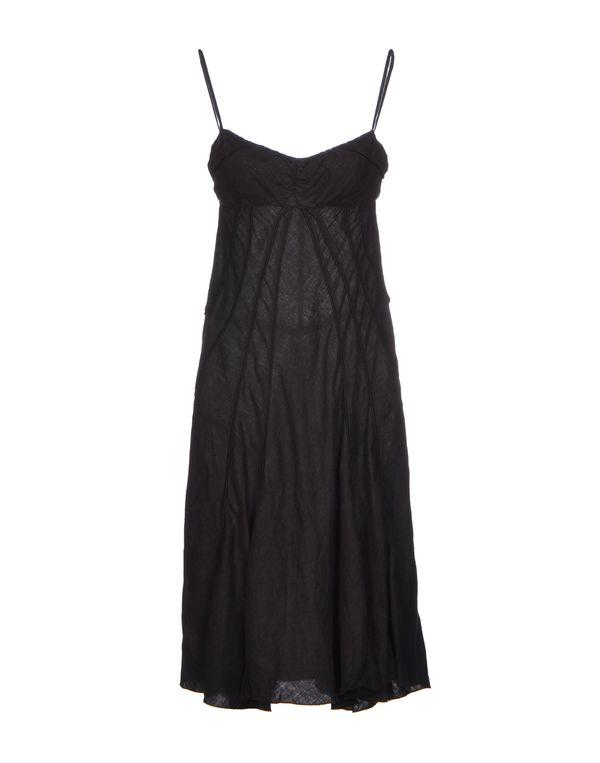 黑色 NOLITA 及膝连衣裙