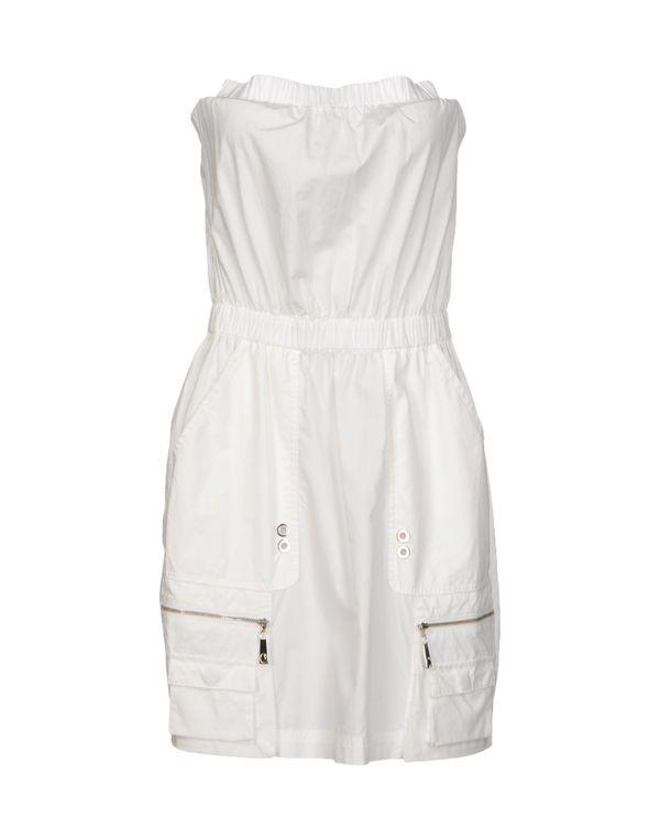白色 PINKO GREY 短款连衣裙