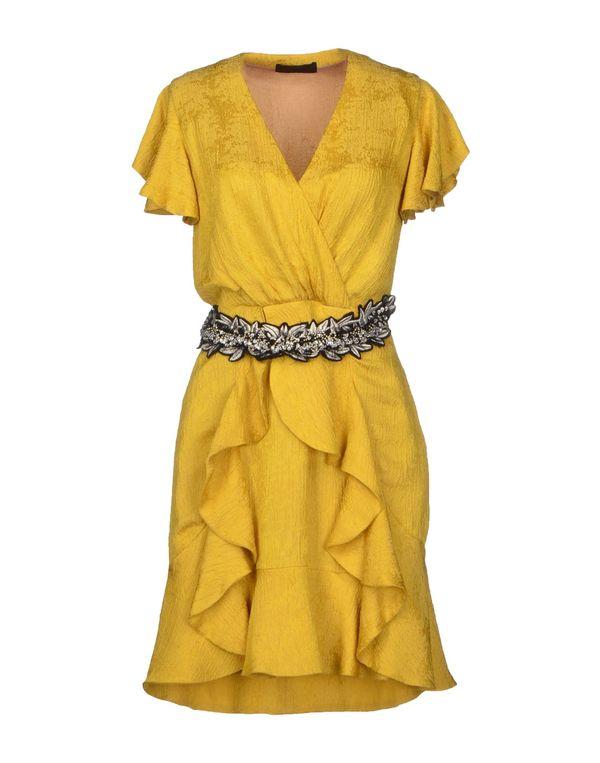 黄色 JO NO FUI 短款连衣裙