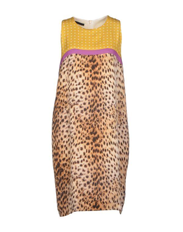 沙色 LES COPAINS 短款连衣裙