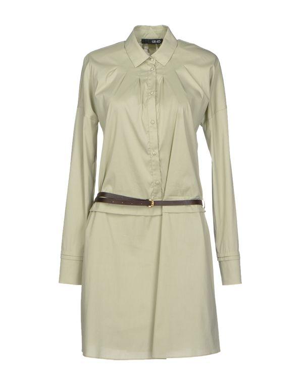 浅绿色 LIU •JO 短款连衣裙